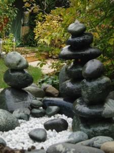 Fontaine de galet