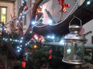 Décoration de Noël au Fantin Latour