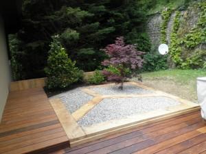 Le bois, le minéral et le végétal en accord