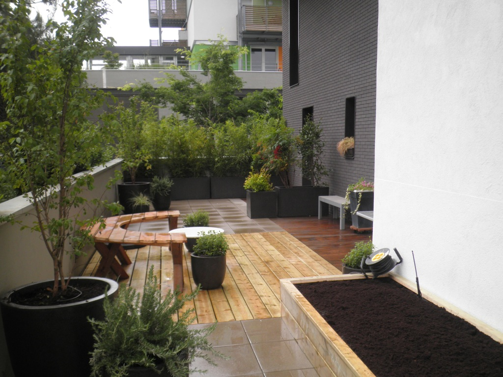 Amenagement toit terrasse free amenagement toit terrasse for Terrasse appartement amenagement