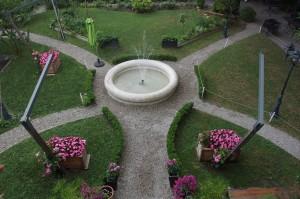 Jardin du Fantin Latour vue de haut