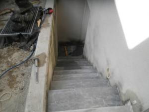 Escalier en pierre Bleu de Savoie