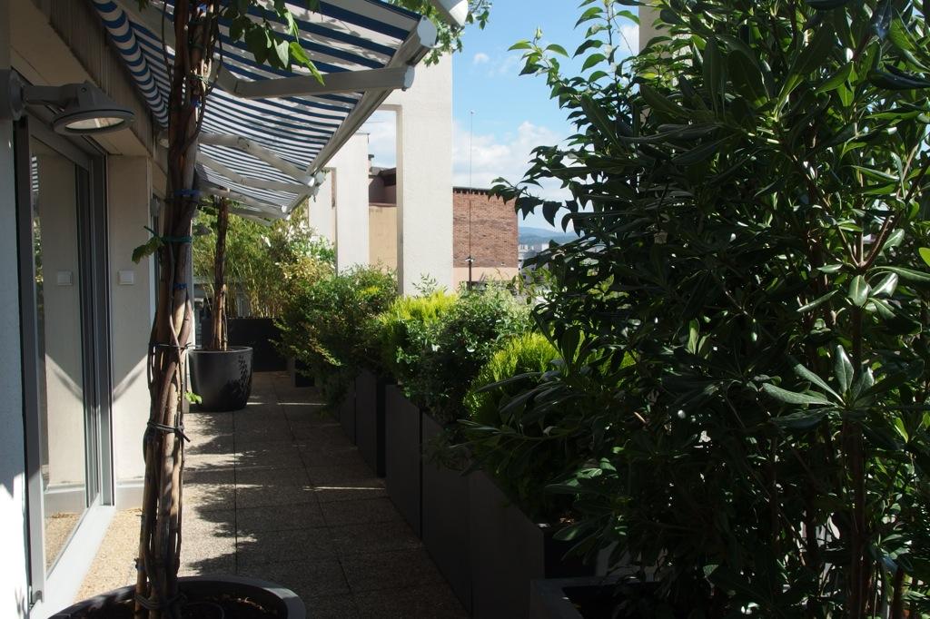 Présentation de 3 terrasses réalisées ce printemps sur Grenoble