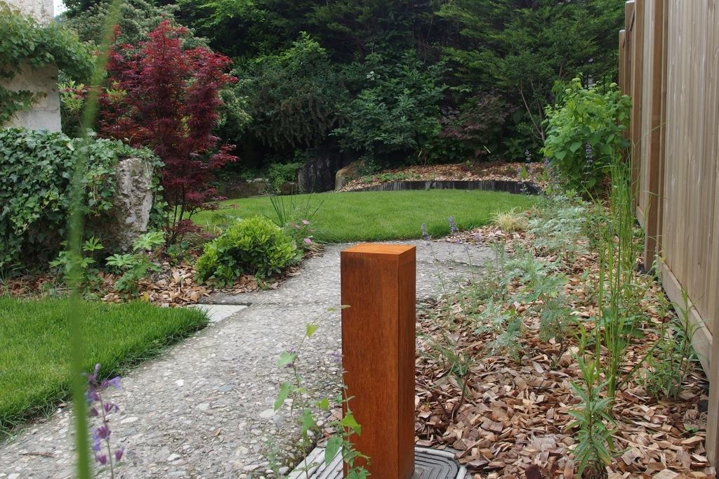 En pierre naturelle arborescence paysage blog for Jardin expose nord