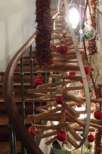 Décoration de Noël au restaurant Le Fantin Latour Grenoble