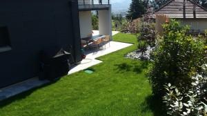 Jardin après aménagement